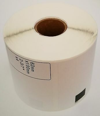 20 Rolls Brother Compatible Dk-1202 Dk1202 Shipping Labels Without Cartridge