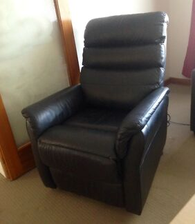 Leather Electric Lift Recliner Chair