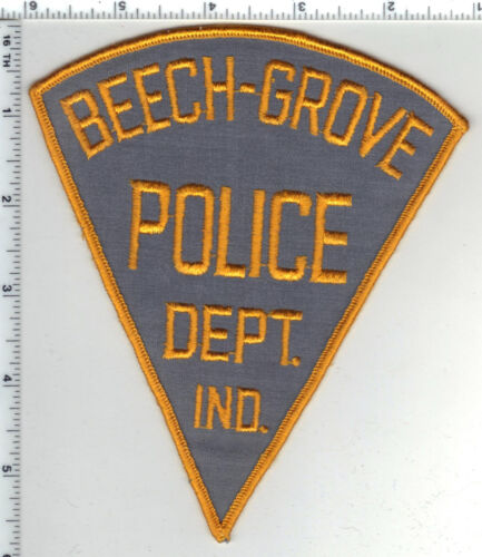 Beech-Grove Police (Indiana) 6-inch Shoulder Patch - New from the 1980