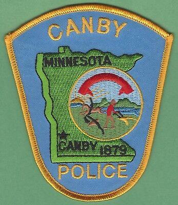 CANBY MINNESOTA POLICE PATCH