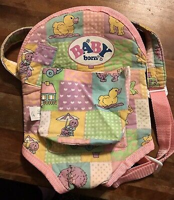 Rare Zapf Creation Baby Born Baby Carrier Used, used for sale  Waynesville