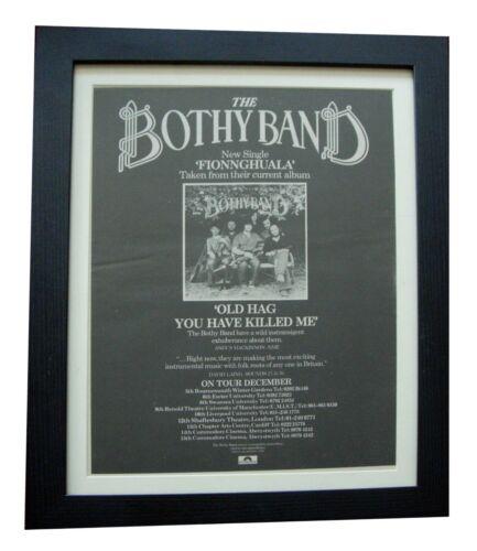 BOTHY BAND+Old Hag You Killed Me+POSTER+AD+FRAMED+ORIGINAL 1976+FAST GLOBAL SHIP