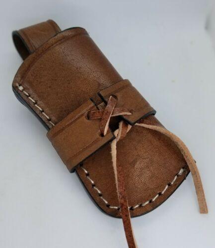 Leather Knife Sheath for Buck 110 & Similar Folding Knives Western Style  FS14
