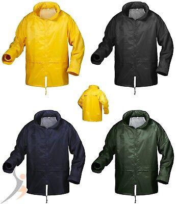 Regenjacke Windjacke Windbreaker Klassische Regenschutz mit Kapuze Gr. S - 3XL - 3xl Jacke