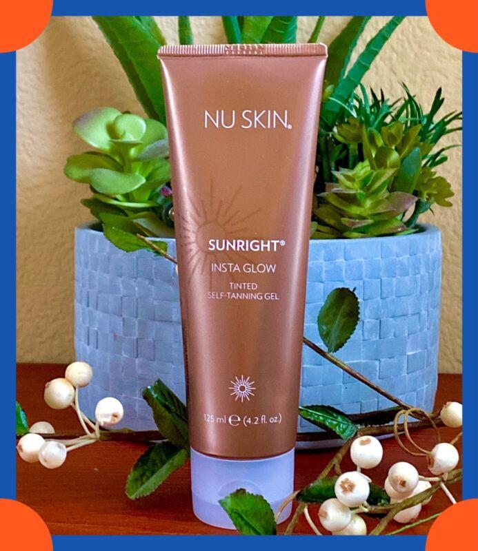 Nuskin Nu Skin Sunright INSTA GLOW Self Tanning Gel, Exp 07/2021