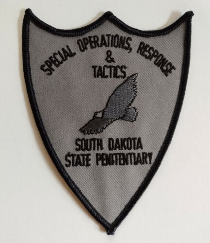 South Dakota State Penitentiary Special Operations Patch /// FREE US SHIPPING !