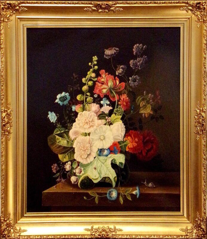 """Othmer Karner """"flower Still Life"""" Original Oil Painting Still Life Make Offer!"""