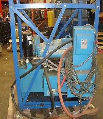 Hydraulic Power Supply W Lincoln Ac Motor 7.5 Hp 230460v 3 Phase E5 18605so