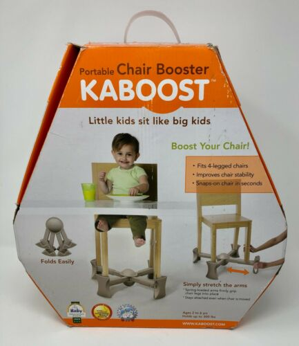 Kaboost Portable Chair Booster 2 Heights Fits 4 Legged Chairs Ages 2-6 years
