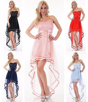 Atemberaubendes Kleid Mega Tüll Schleppe Satin Braut Brautjungfer Fest Ball  - Atemberaubendes Ballkleid