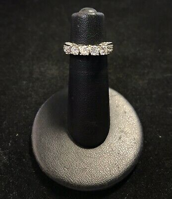 14k White Gold Four Stone Diamond Ring (G9) 14k White Gold Four Stone