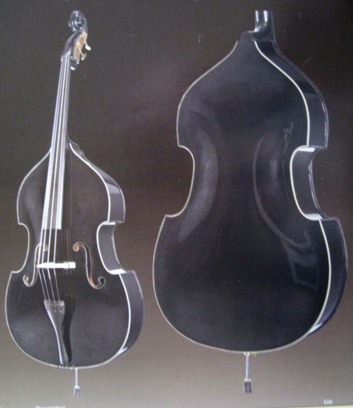 Howard Core Model A40 - Black - 3/4 Upright Bass Outfit