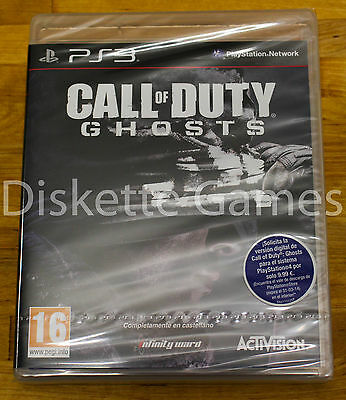 CALL OF DUTY GHOSTS - PLAYSTATION 3 PS3 PLAY STATION - PAL...