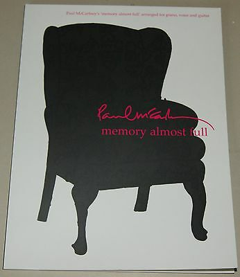 Paul McCartney Memory Almost Full Piano Vocal Guitar Songbook Klavier Notenbuch ()