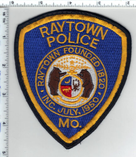 Raytown Police (Missouri) 3rd Issue Shoulder Patch