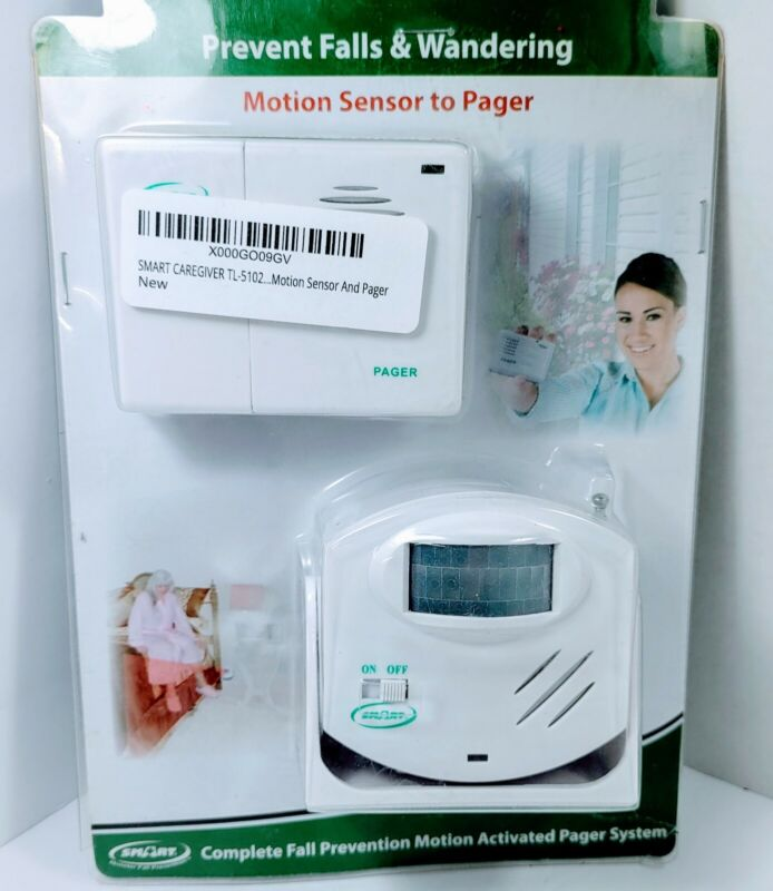Smart Caregiver Complete Fall Prevention Motion Activated Pager System