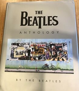 The Beatles Anthology book - water damaged