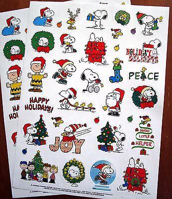 NEW Peanuts Snoopy Woodstock Charlie Brown Christmas 68 Acid Free -