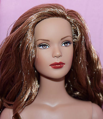 """TONNER 16"""" TYLER WENTWORTH WILD SPICE BW NUDE DOLL NO BOX OR STAND"""