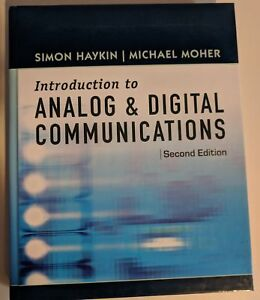 An Introduction to Analog Digital Communications (Simon)