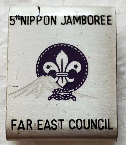 * Belt Loops - Far East Council, 5th Nippon & 13th World Jamborees