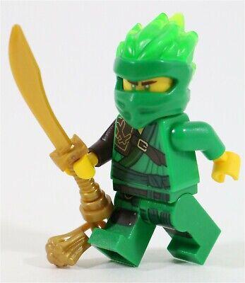 LEGO NINJAGO FS LLOYD MINIFIGURE GREEN GOLD POWER NINJA 70678 - NEW GENUINE