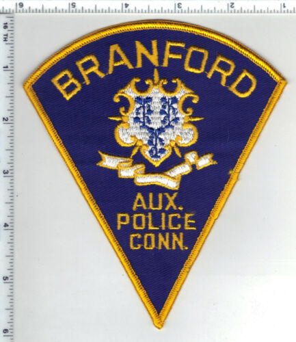 Branford Auxiliary Police (Connecticut) Shoulder Patch - new from the 1980