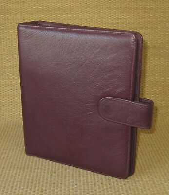 Classic 1.25 Rings Burgundy Leather Franklin Coveysimilar Plannerbinder