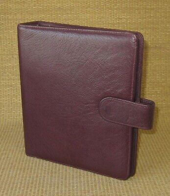 Classic 1.25 Rings Burgundy Leather Franklin Coveysimilar Plannerbinder