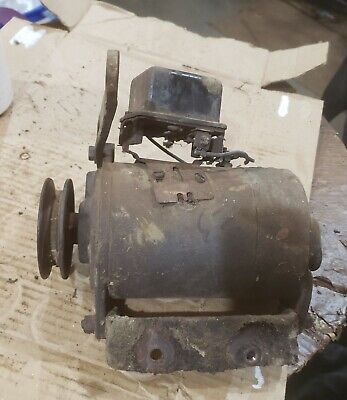 Massey Harris 33 Mh Tractor Good Working 6v Generator W Belt Pulley 44 Part