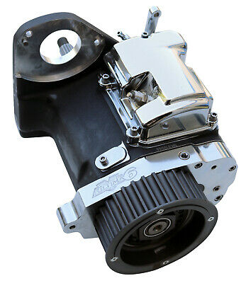 Ultima Black 6-spd Right Side Drive Transmission for Custom Frames, No Cover