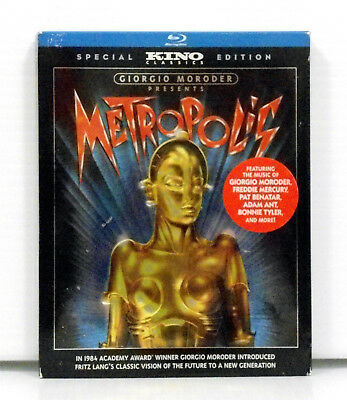 Giorgio Moroder Presents Metropolis Special Edition Blu-Ray Region 1 Helm Lang