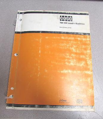 Case 780 Ck Construction King Loader Backhoe Parts Catalog Manual J1164 1984