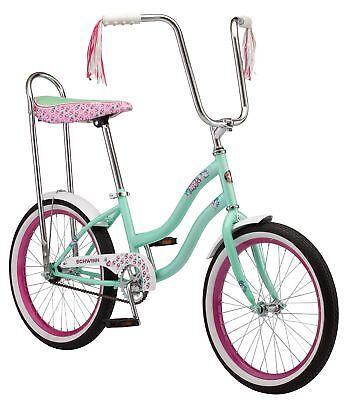 (Schwinn Girl's Mist Polo Bike, 20-Inch, Mint)
