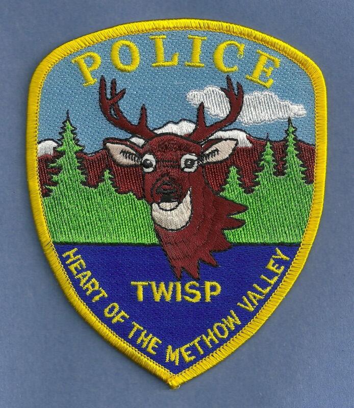 TWISP WASHINGTON POLICE SHOULDER PATCH NICE!