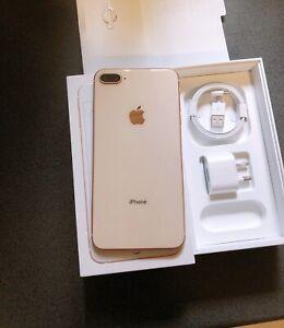 Excellent condition 64gb iphone 8 Plus Rose Gold Unlocked