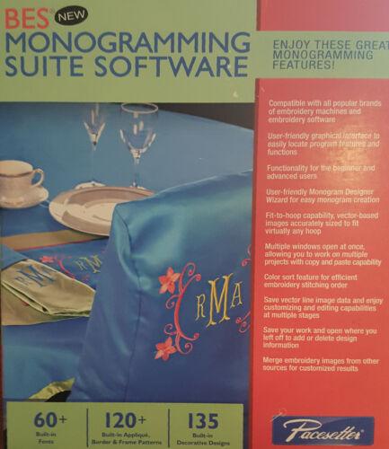 BES Monogramming Software