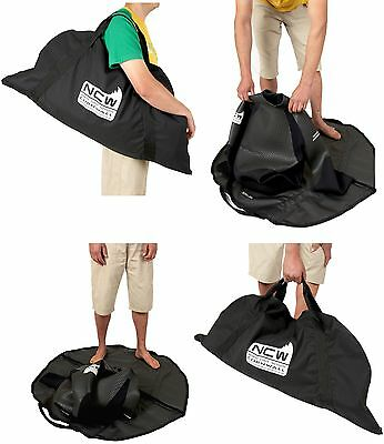 Wetsuit bag & changing mat - Keeps wet kit in one place after use - clean car - Mat Use Wetsuits