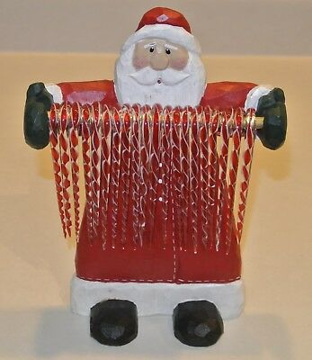 "Large Eddie Walker Santa Candy Cane Holder  Midwest 8"" x 6"" Christmas for sale  Shipping to Canada"