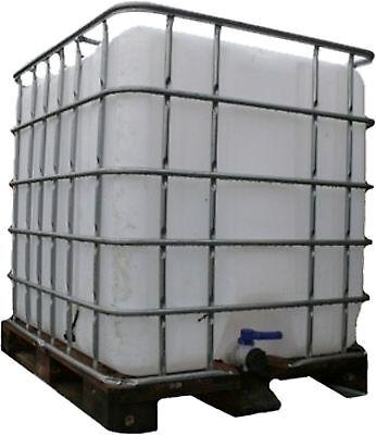 IBC Wassertank Container Regentonne 1000 Liter