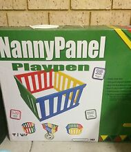 Tikk Tokk Nanny Panel Playpen Manning South Perth Area Preview