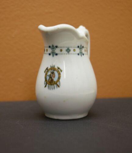 Hotel Multnomah cream pitcher, vintage restaurant china