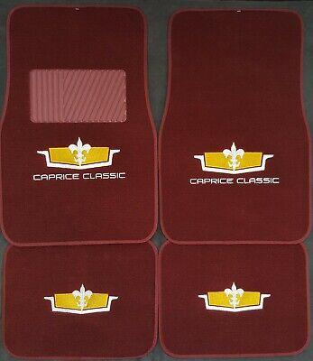 Chevy caprice classic FLOOR MATS carpet interior headliner rugs