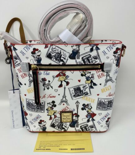 NWT! Dooney & Bourke Minnie Mouse Très Chic Crossbody Disney Parks ACTUAL BAG