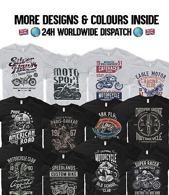 Harley Davidson Motorrad T-shirt (Motorrad T-Shirt Indian Motorrad Harley Davidson Chopper Honda Biker Garage)