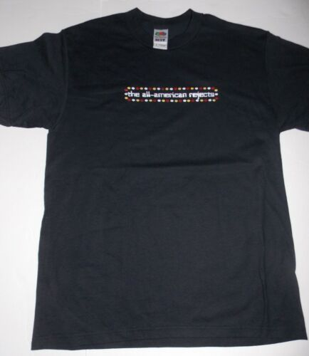 All American Rejects- NEW Circle Border T Shirt- Medium FREE SHIPPING TO U.S.!