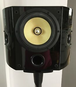 Monster THX CERTIFIED SL100-DSR 200W DIPOLE SURROUND SPEAKERS
