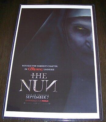 The Nun 11X17 Movie Poster Bonnie Aarons Teaser