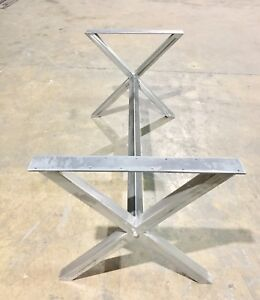 Metal table legs and bases for for sale !