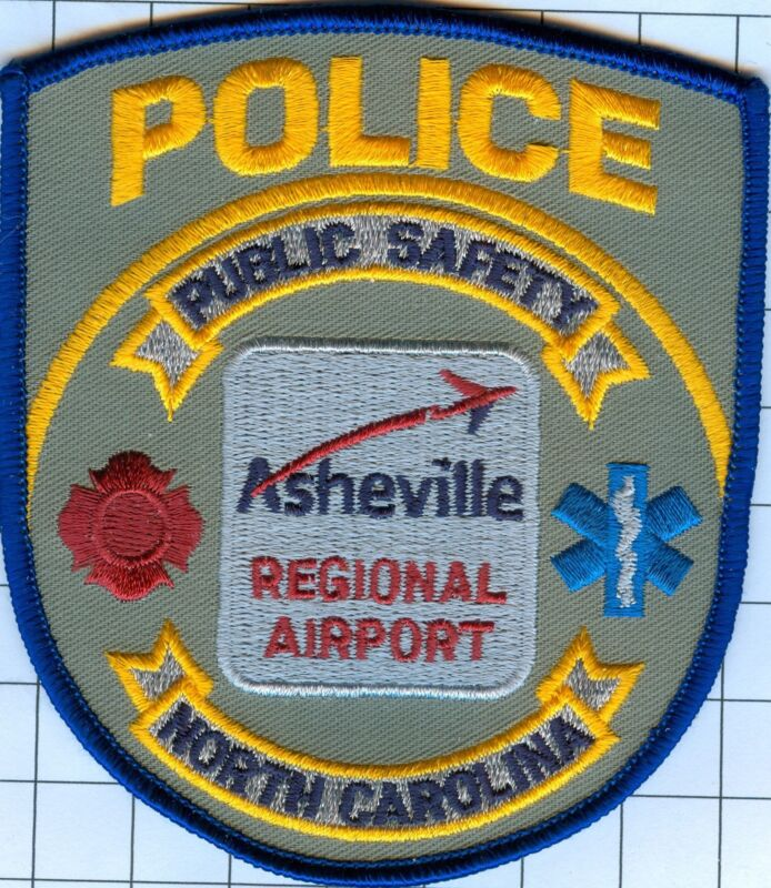 Police Patch  - North Carolina - ASHEVILLE REGIONAL AIRPORT
